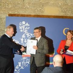 2019   CONI   Premiazione Antonio Rutigliano a Barletta