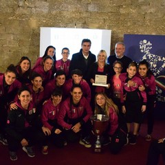 2019 Benemerenze CONI Barletta : Futsal Salinis di Margherita di Savoia