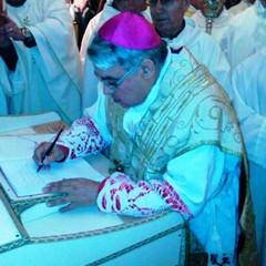 2016  Mons. Marcello Semeraro a Canosa nella Cattedrale S.Sabino