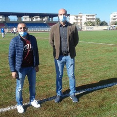 Gianni Sorrenti e Vice Sindaco Francesco Sanluca