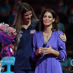 Stefania Sansonna annuncia il ritiro