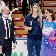 Stefania Sansonna con Cristina Chirichella