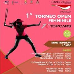 """Barletta: I Open Femminile Nazionale """"TopCars"""""""
