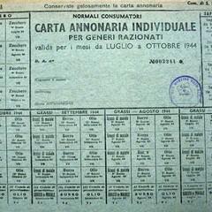 Tessera Annonaria 1940