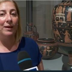 RAI3 TGR Puglia Direttrice Museo  Anita Rocco Tg itinerante a Canosa di Puglia