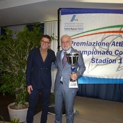 Presidente Giuseppe Tomaselli e Paolo Liuzzi Bari