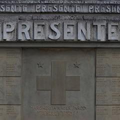 Tomba di Margherita Kaiser Parodi nel Sacrario di Redipuglia