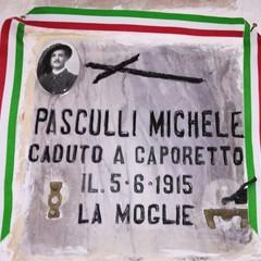 Camposanto Canosa tomba Pasculli Michele