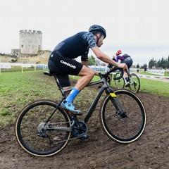 Fabio Aru ai Tricolori Ciclocross Lecce 2021