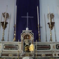 Velatio Altare Maggiore Chiesa Gesù Giuseppe e Maria