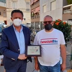 A Canosa: Carmine Acquasanta (vice presidente  FCI) e Vito Pagano