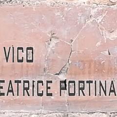 Canosa: Vico Beatrice Portinari