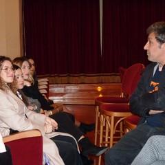 Flavio Insinna e Maria Laura Zagaria a Canosa