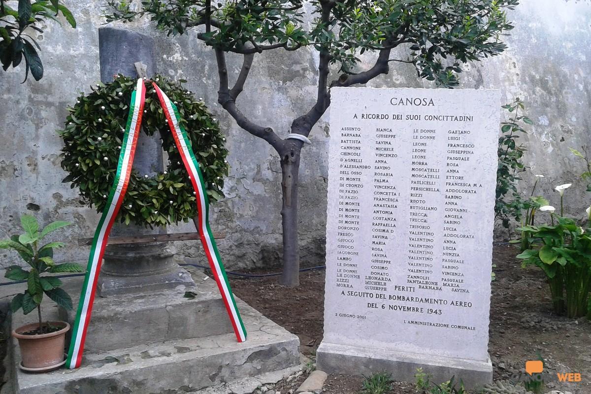 75°Anniversario della Liberazione d'Italia: Canosa 25 Aprile 2020