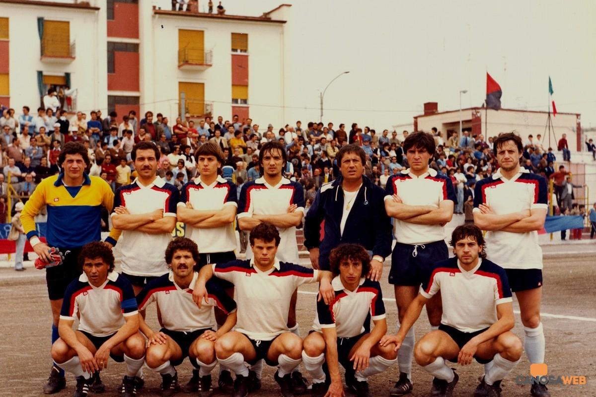 Canosa Calcio  1948 - Campionato Interregionale Girone L 1981-82