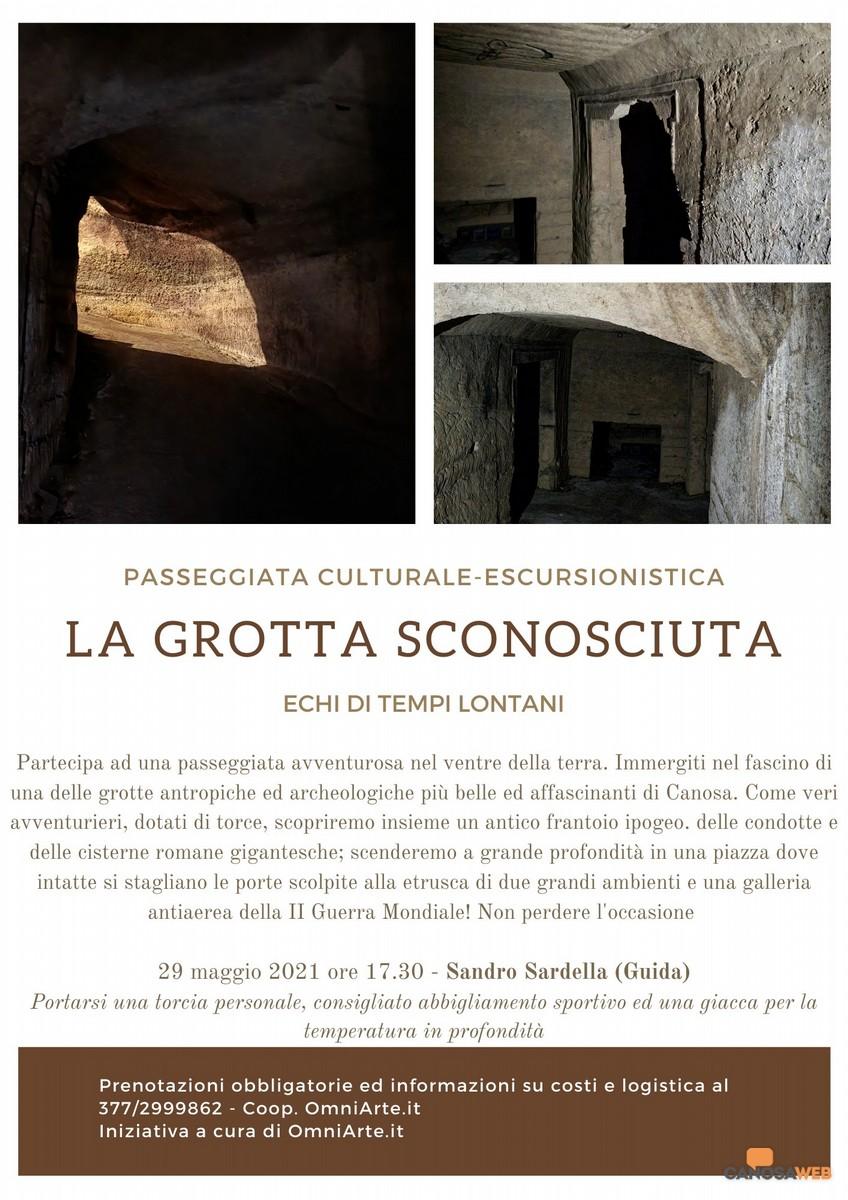 Canosa La Grotta sconosciuta
