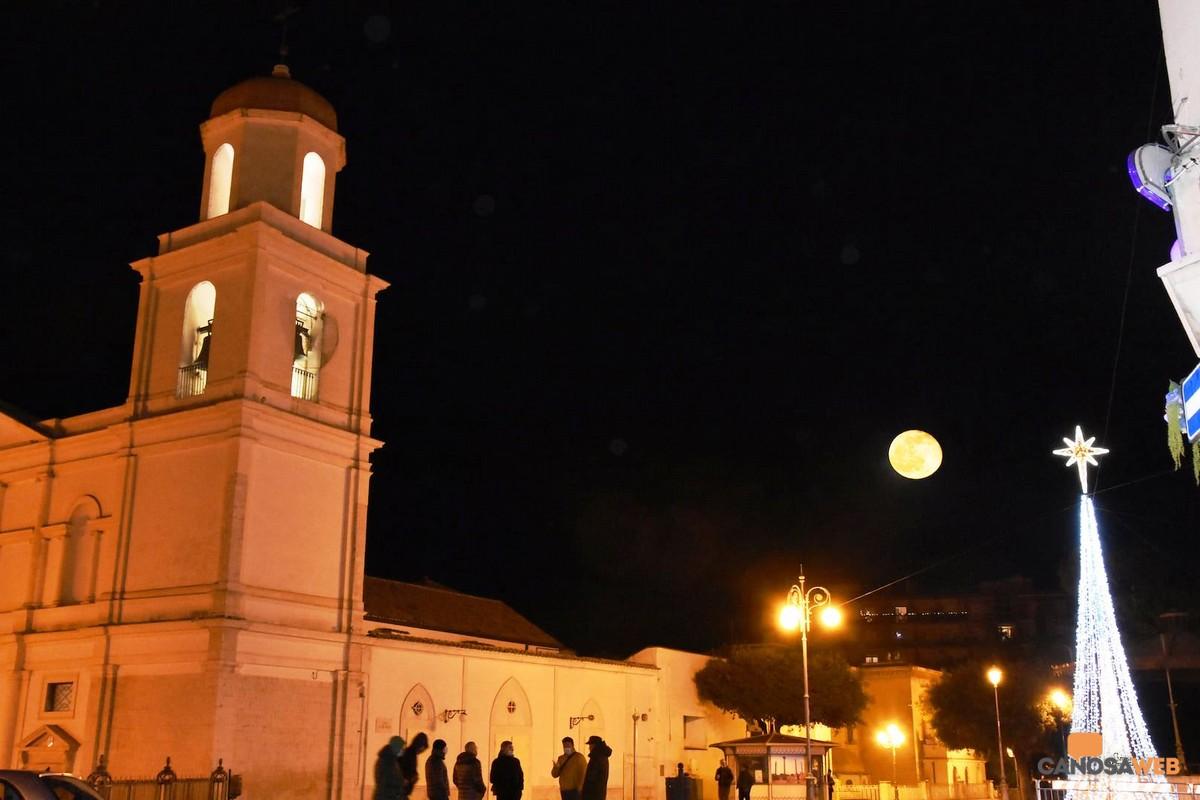 Canosa di Puglia  Natale 2020 Luna piena
