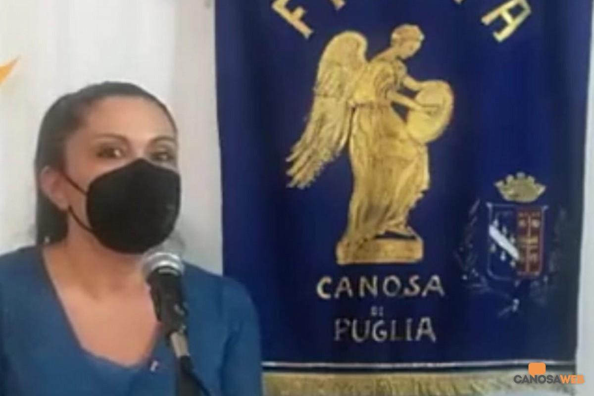 Carmelinda Lombardi, presidente FIDAPA Canosa di Puglia