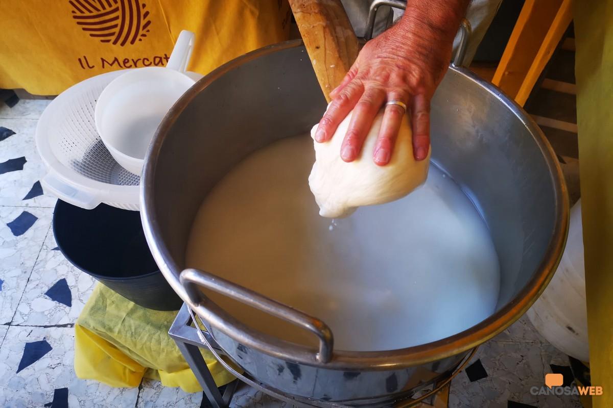 Dal latte alla mozzarella