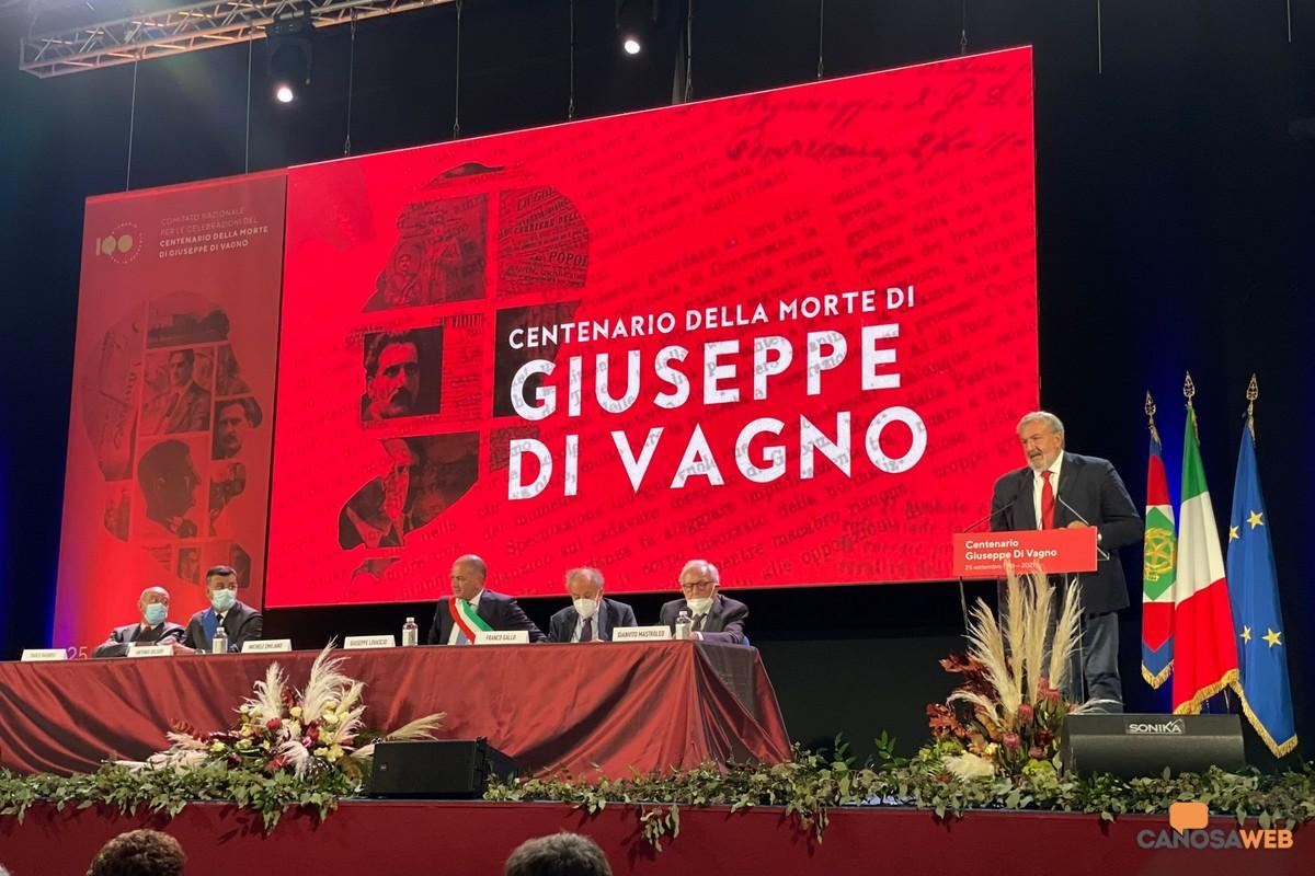 Centenario della morte di Giuseppe Di Vagno