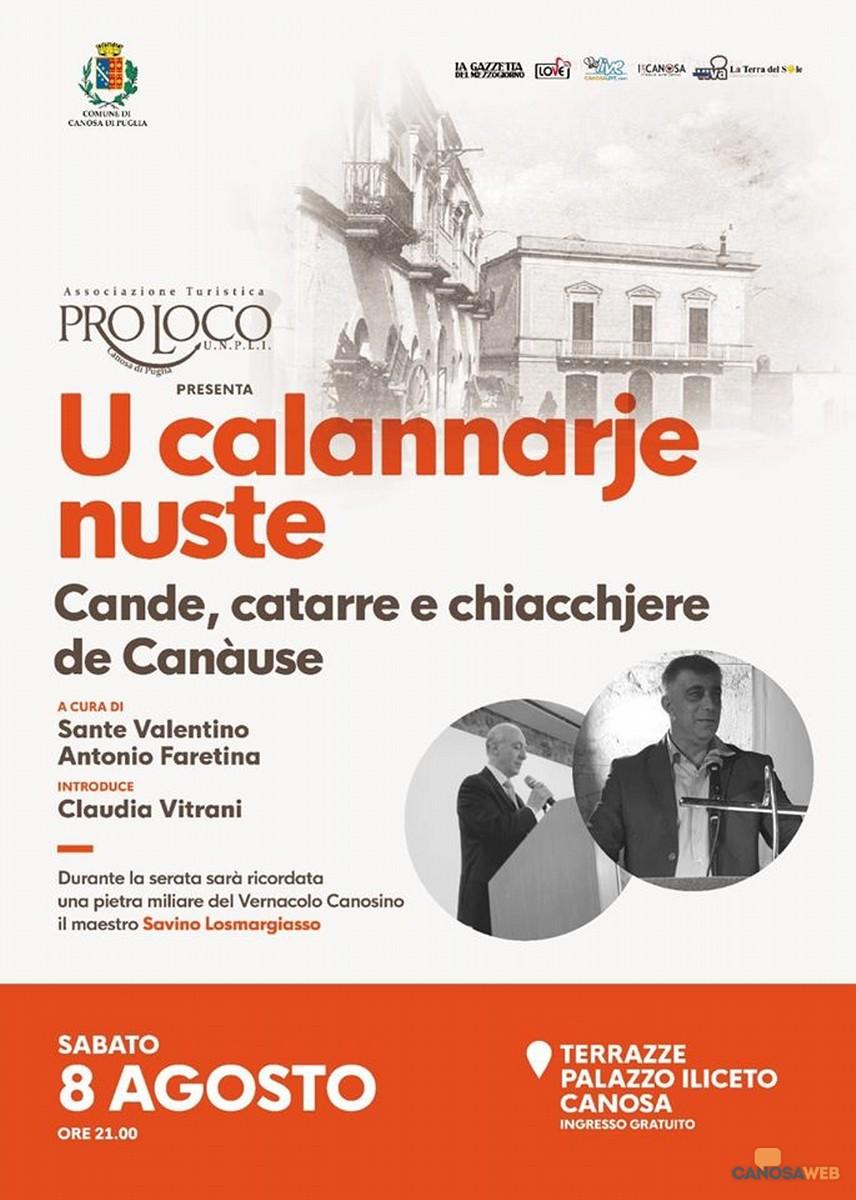 2020 Con la Pro Loco Canosa va in scena il dialetto