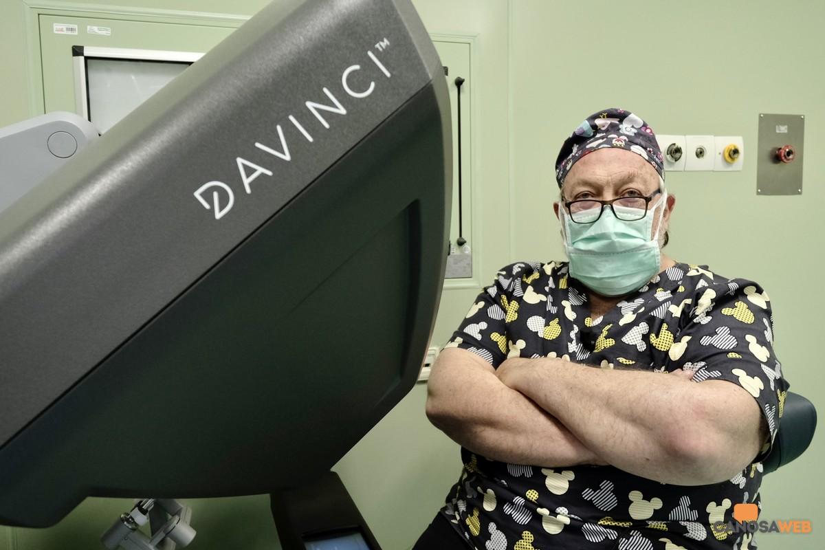 Dottor Enrico Restini, Direttore della Unità operativa di Chirurgia