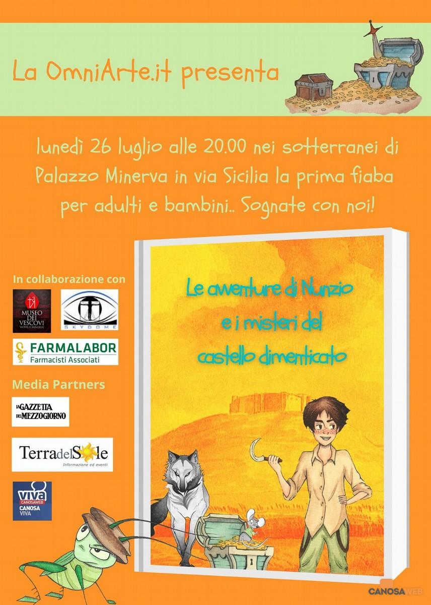 """Presentazione """"Le avventure di Nunzio e i mestieri del Castello dimenticato"""""""