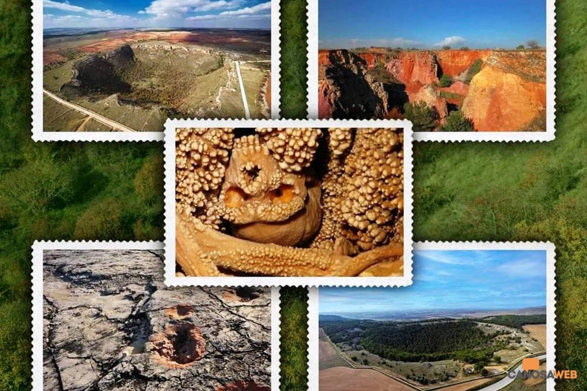 Francobolli Mise per le bellezze del Parco Nazionale dell'Alta Murgia