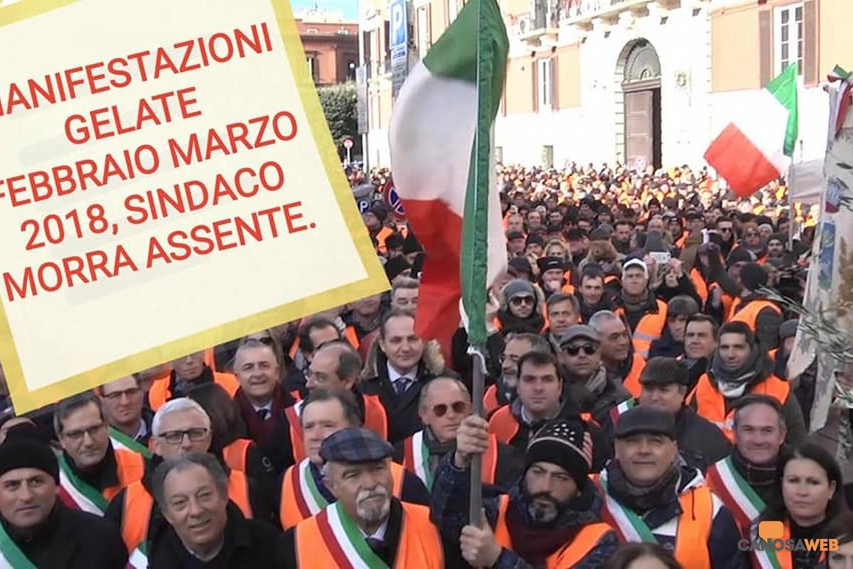 2018 Manifestazione gelate con i sindaci