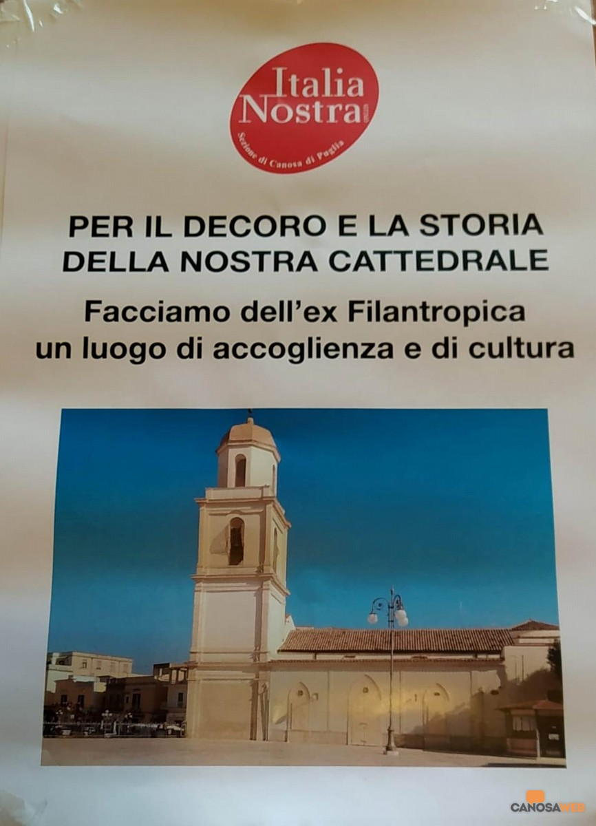 Raccolta firme Italia Nostra Sezione Canosa di Puglia
