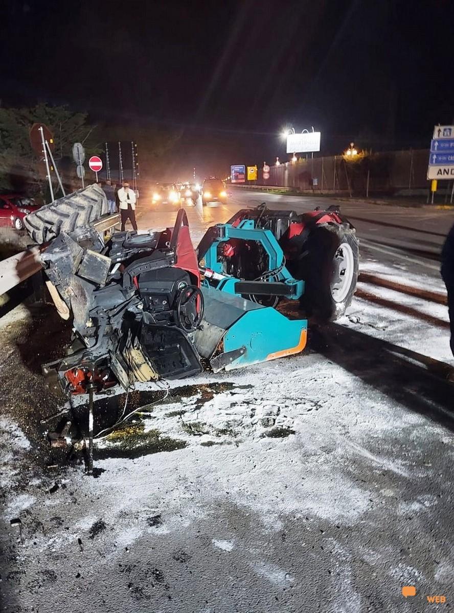 Andria Incidente stradale sulla ex Sp 231