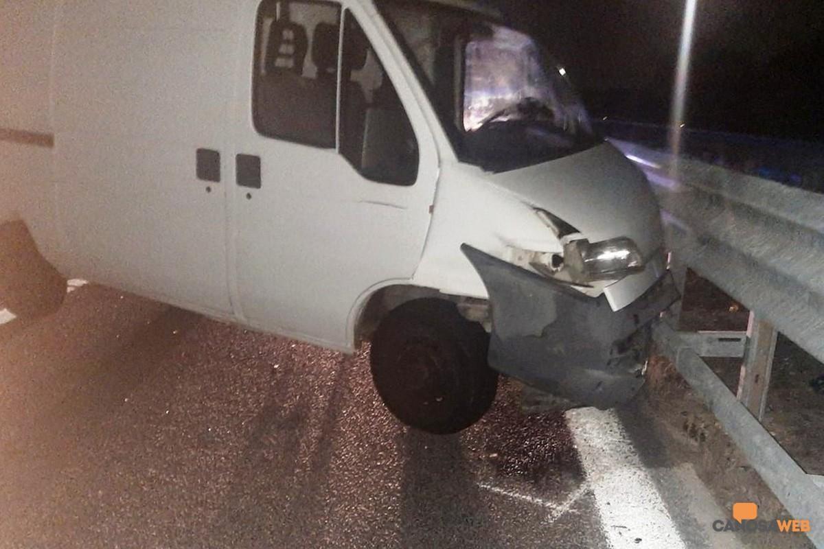 2020 Incidente in A/14 Andria-Canosa