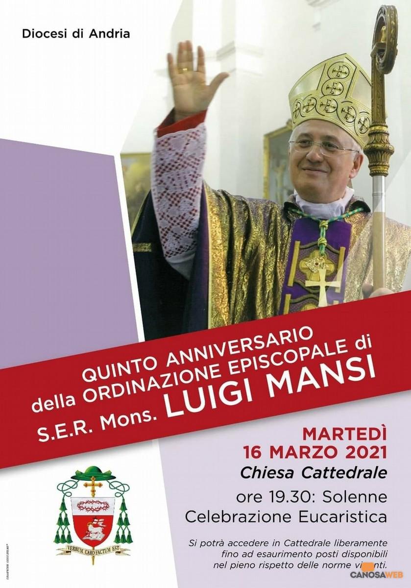 2021 V Anniversario Ordinazione episcopale di Mons. Luigi Mansi