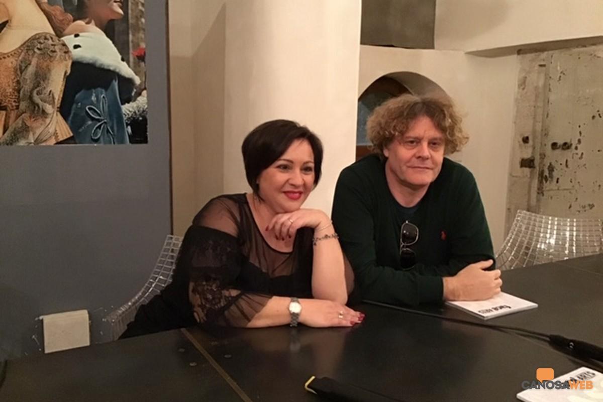"""Mary Sperti e Vittorio Raschetti- """"Face'Arts""""  Ascoli"""