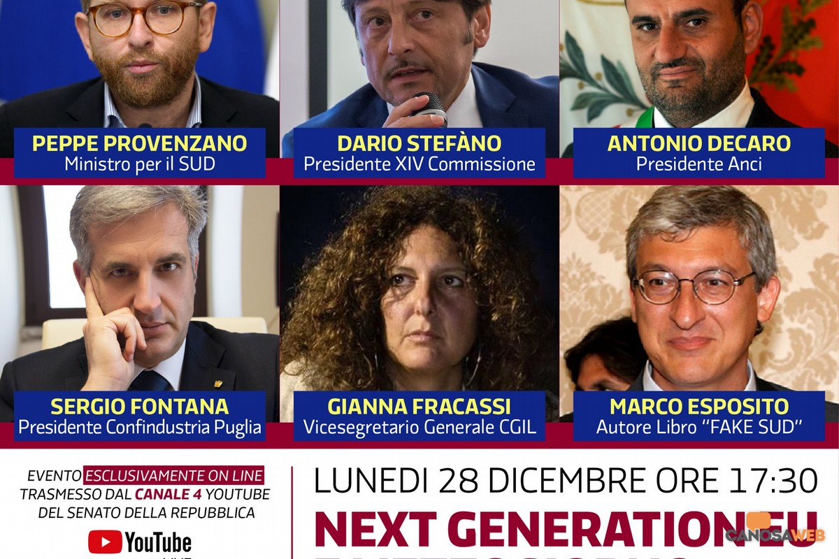 2020 Next Generation EU e Mezzogiorno