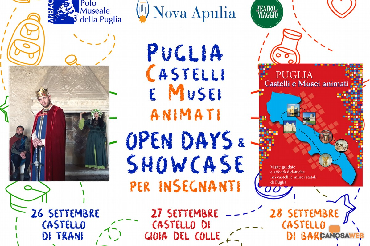 Castelli di Puglia:Open Day e Showcase