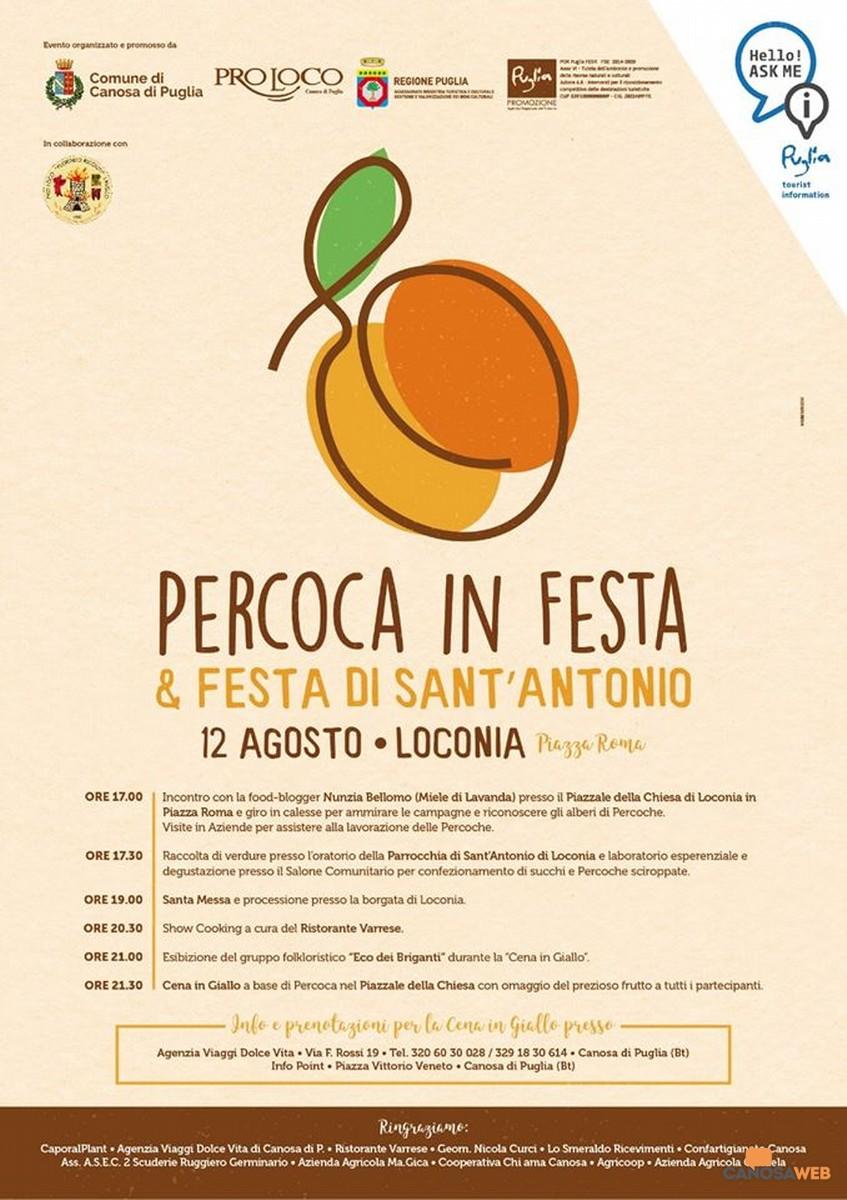 "Loconia  ""Percoca in Festa & Festa di Sant'Antonio"""