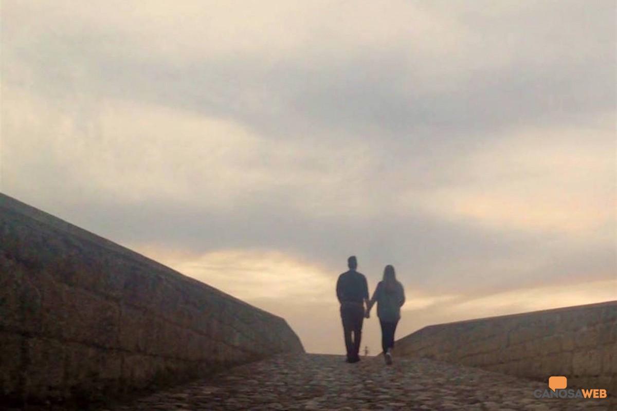 Ponte Romano. ponte degli innamorati