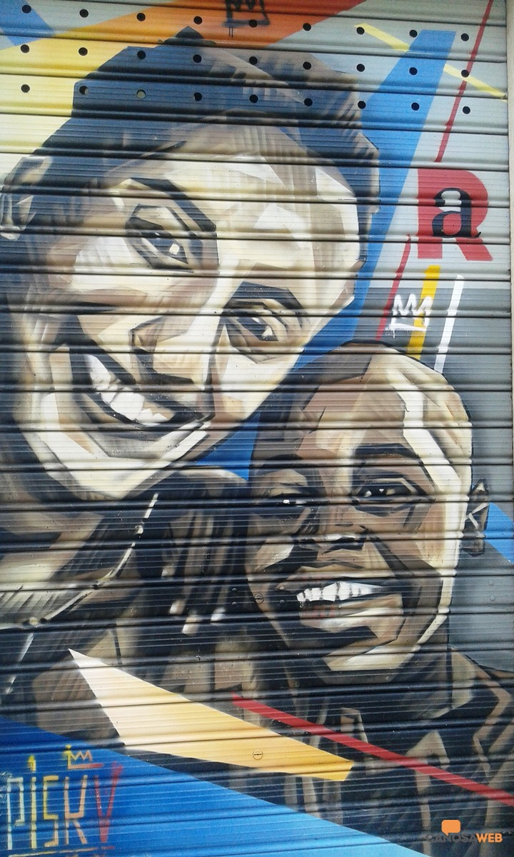 A Silvia Romano: Street Art  Piskv 2020 Canosa via 23 Maggio n.6