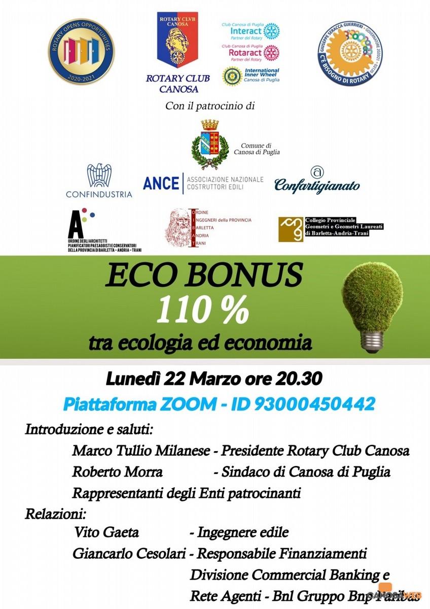 2021 Rotary Club  Canosa - Ecobonus