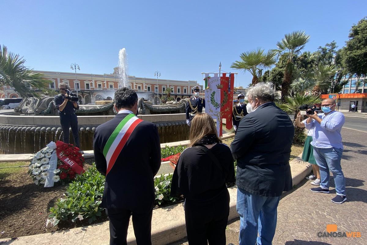 2020 Bari Nel ricordo delle vittime della strage dei treni Andria-Corato