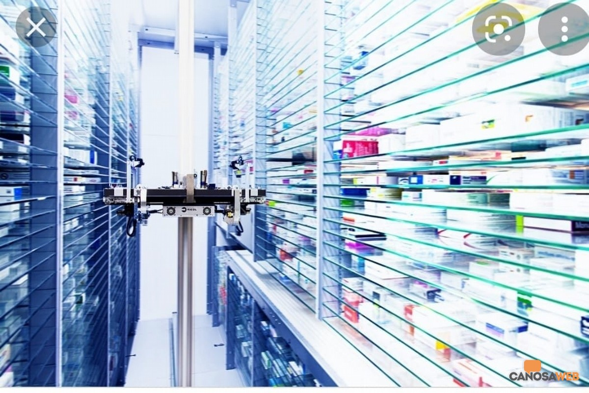 Robot Farmacia Lombardi Canosa di Puglia