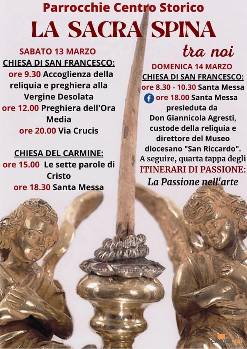 2021  Canosa :Venerazione Sacra Spina