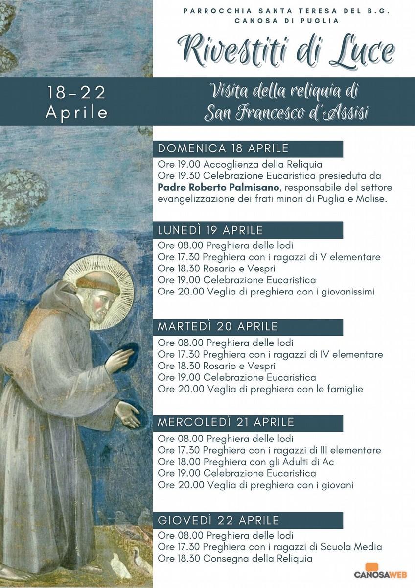 2021 Canosa: Parrocchia di Santa Teresa del Bambin Gesù