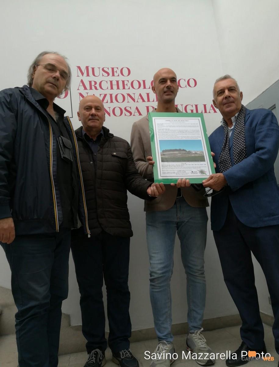 Sette Colli al Museo di Canosa Puglia