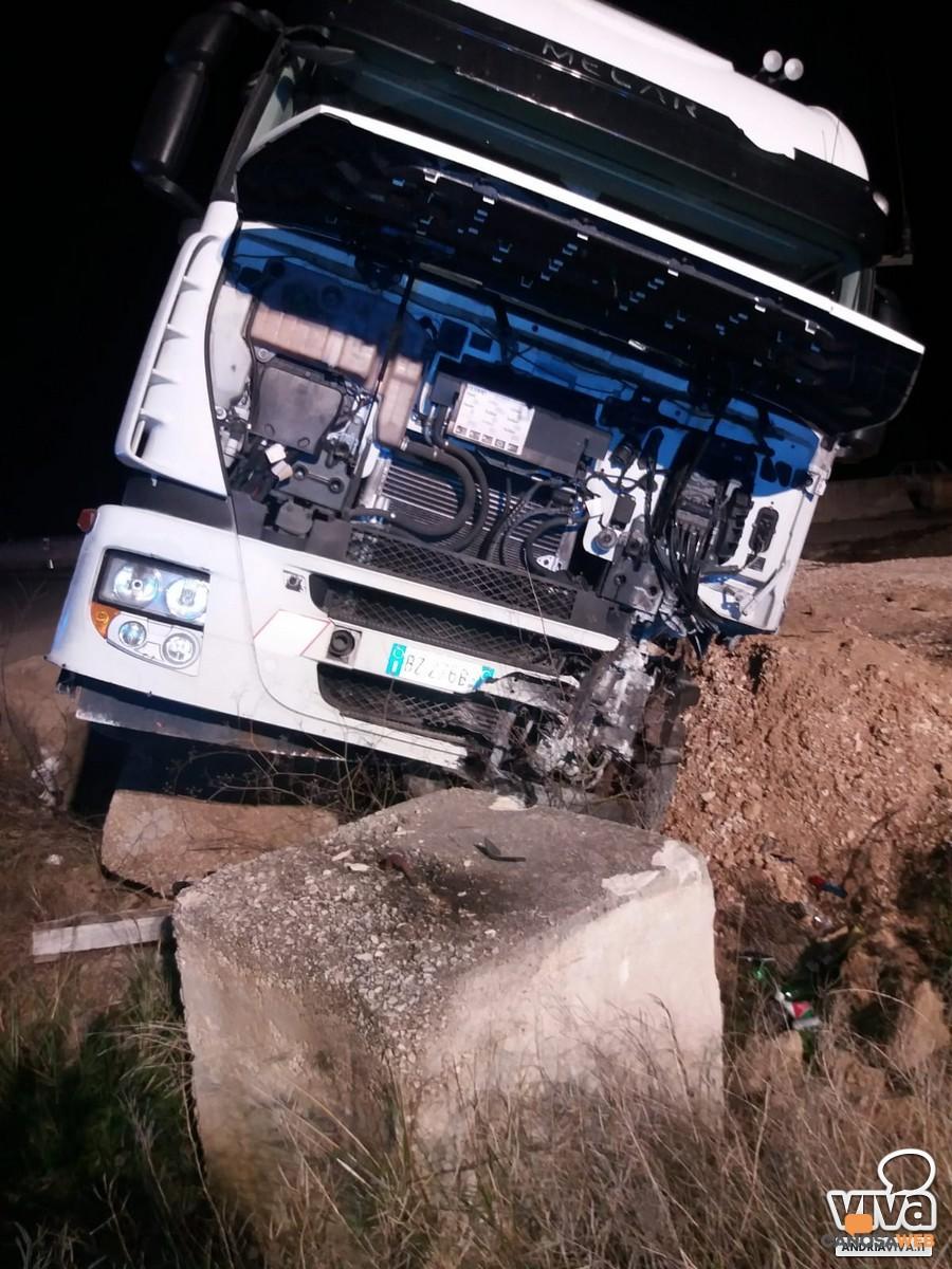 Andria-Canosa incidente stradale