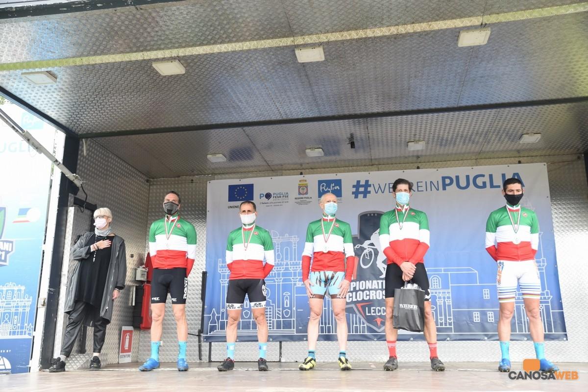 Premiazioni Campionati Italiani Ciclocross  Lecce 2021
