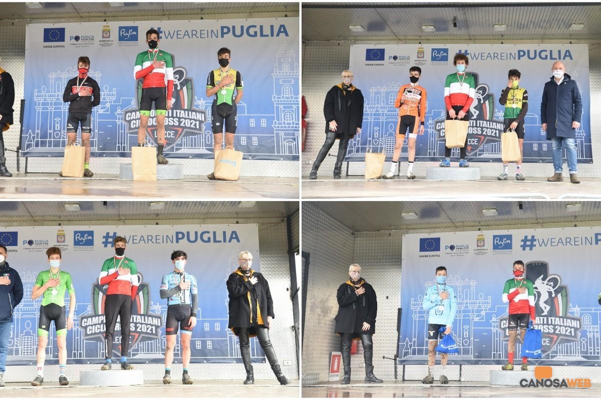 Tricolori Ciclocross Lecce 2021 campioni italiani es-all uomini