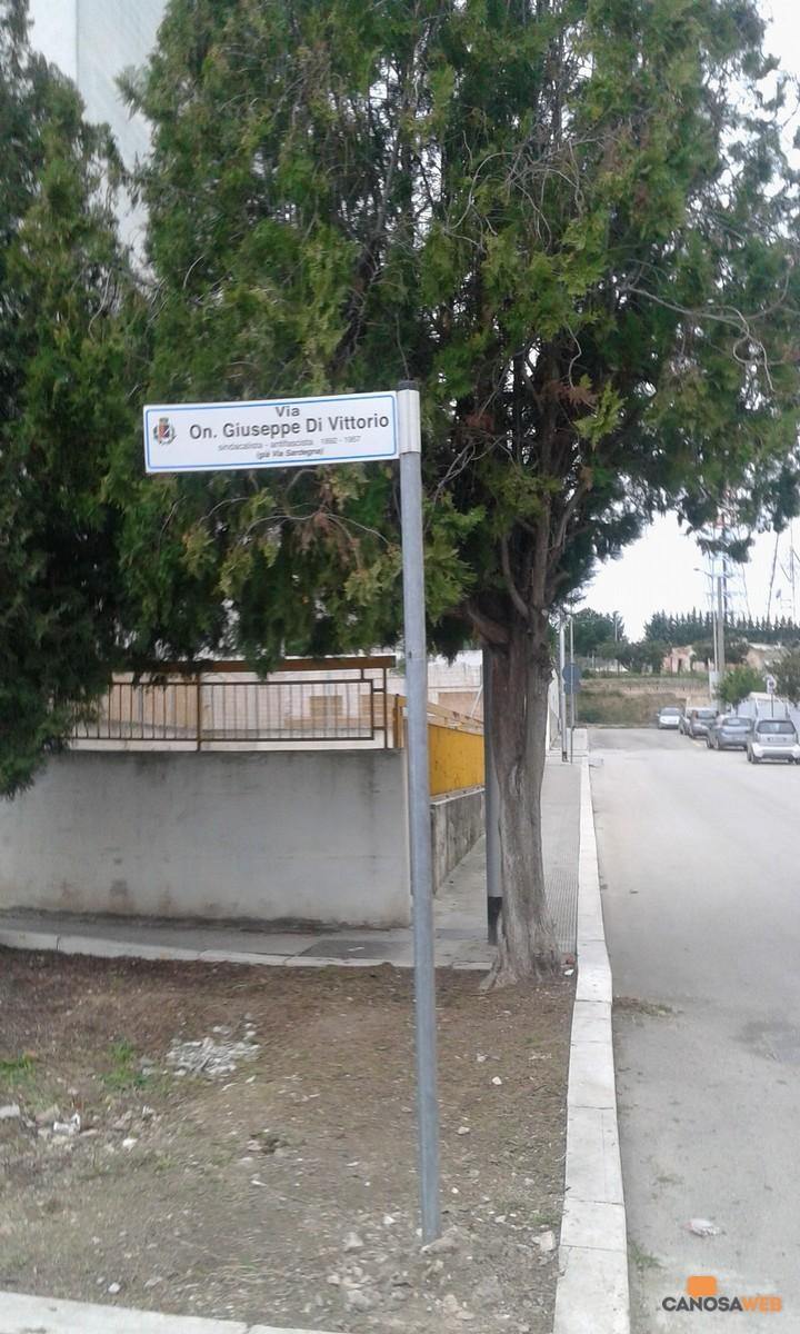 Canosa Via Giuseppe Di Vittorio