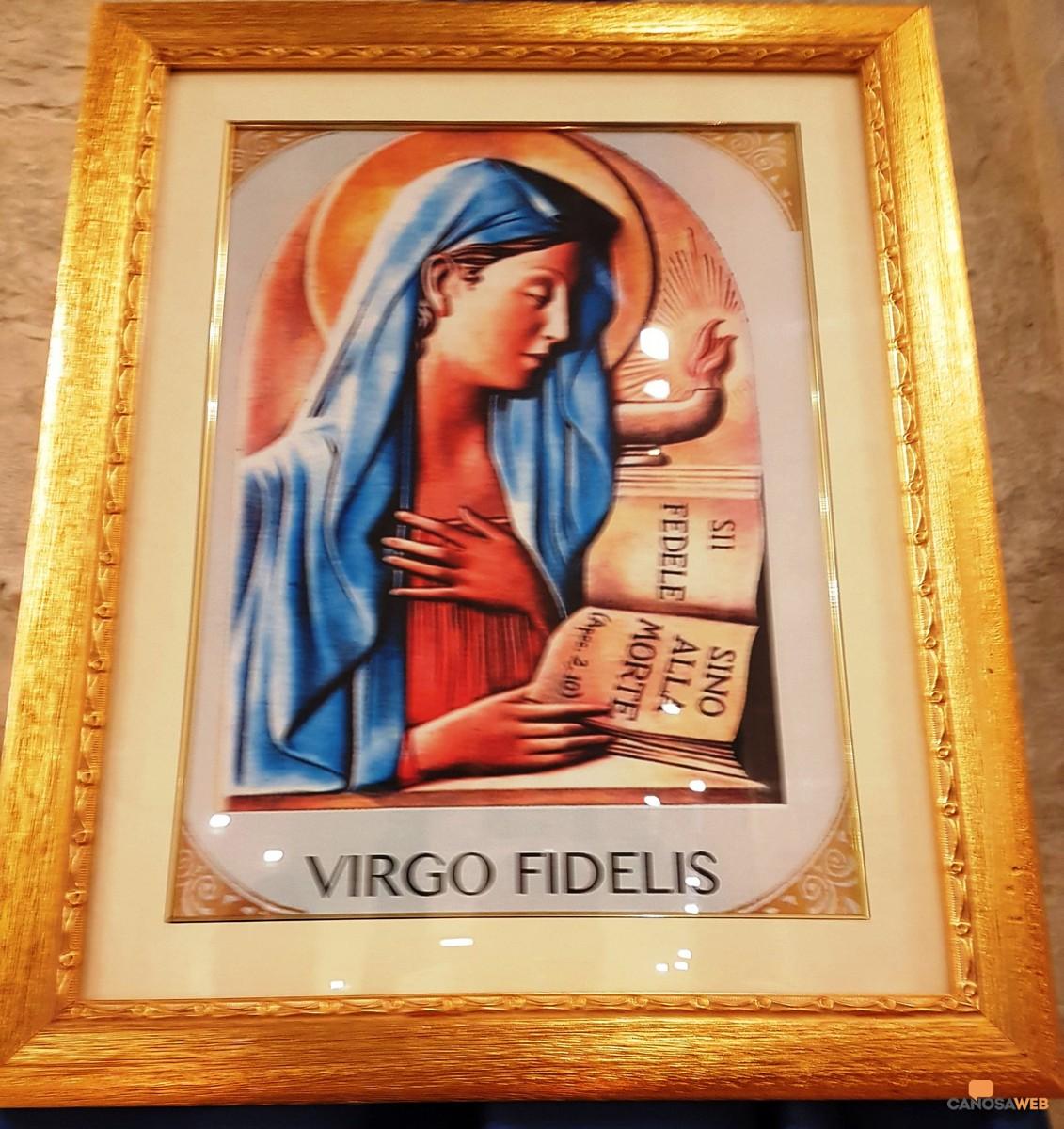 """Il culto della """"Virgo Fidelis"""""""